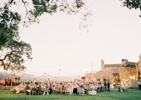 Outdoor Vineyard Reception