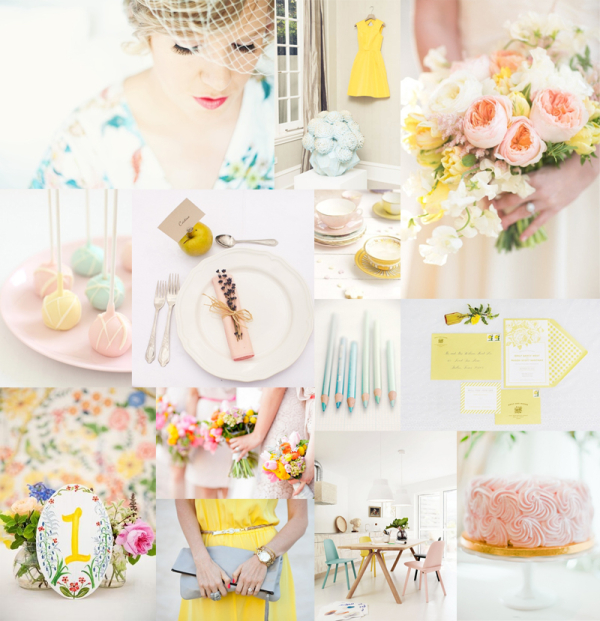 Pastel Wedding Color Inspiration