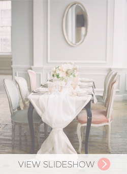 Pretty Table Runners