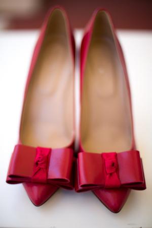 Coral Wedding Shoes 96 Unique Photography u Starfish Studios