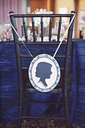 Silhouette Chair Sign