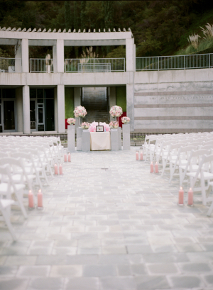 Skirball Cultural Center Outdoor Ceremony Venue