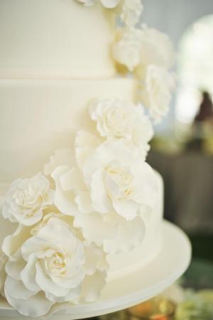 Sugar Flower Cake Detail
