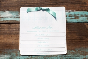 Tiffany Blue Wedding Stationery
