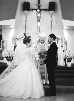 Traditional Asian Church Wedding Ceremony