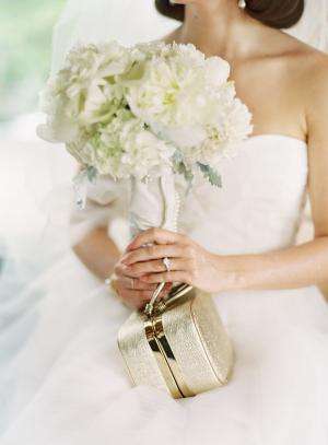 Vintage Bridal Clutch