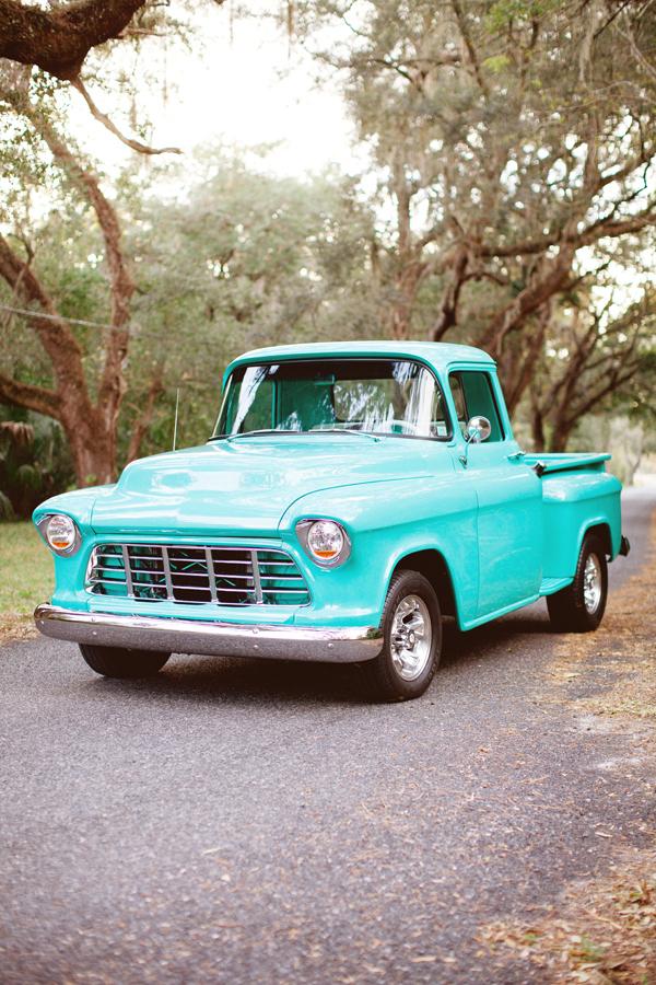 Vintage Turquoise Pickup Truck - Elizabeth Anne Designs: The Wedding ...