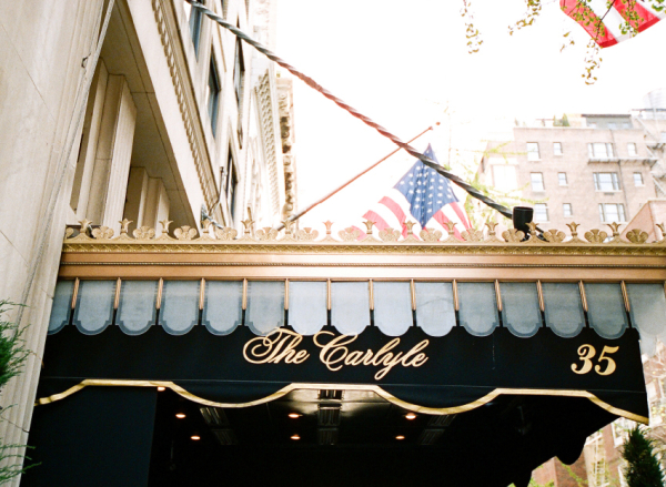 Wedding at The Carlyle New York