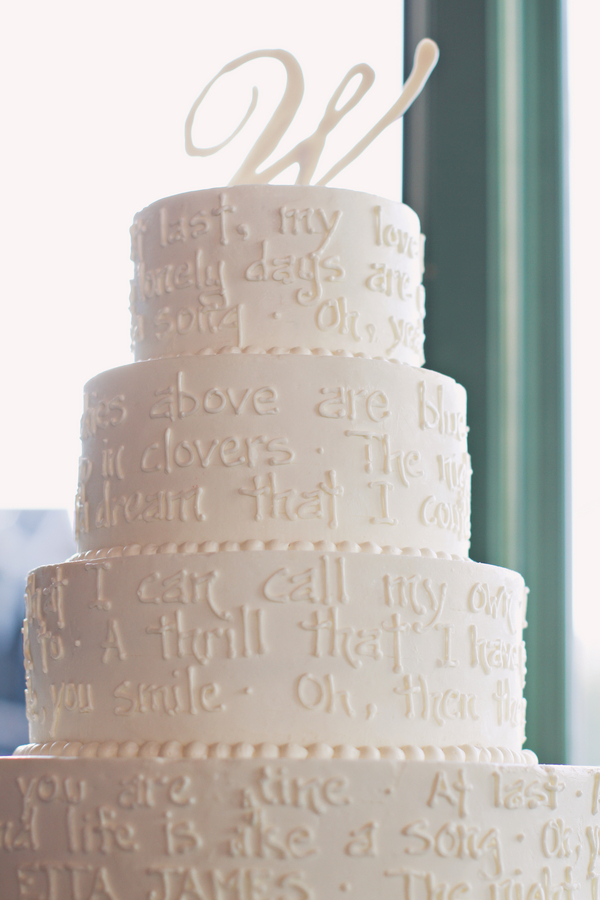 White Wedding Cake - Elizabeth Anne Designs: The Wedding Blog