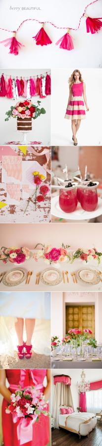 Berry Pink Wedding Ideas
