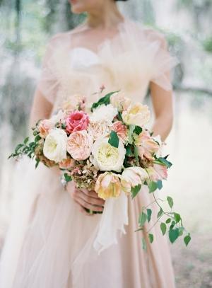 Blush Peach Bouquet