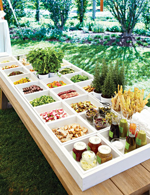 Boxed Food Station - Elizabeth Anne Designs: The Wedding Blog