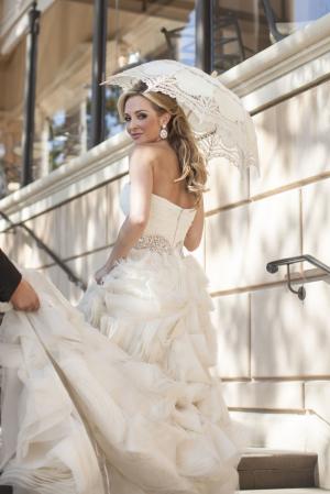 Brides Vintage Parasol