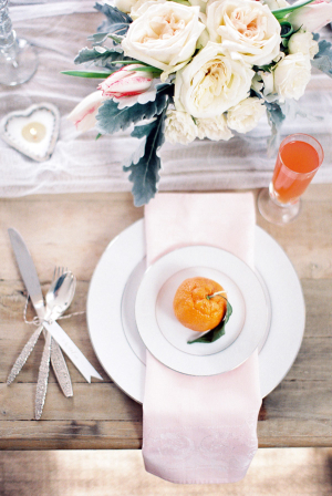 Champagne Brunch Place Setting