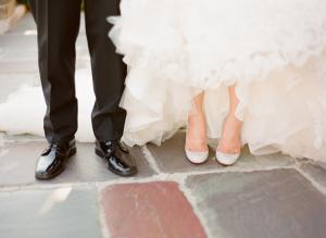 Christian Louboutin Silver Shoes