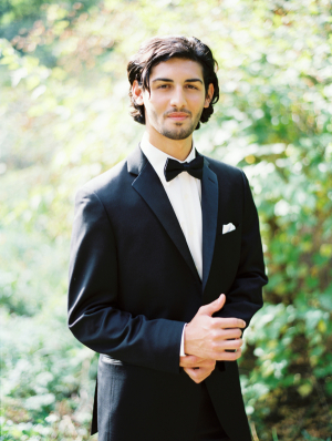 Classic Black and White Tux