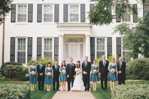 Classic Blue Bridal Party
