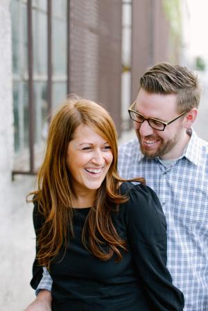 Couple Engagement Portrait Brandon Kidd Photography