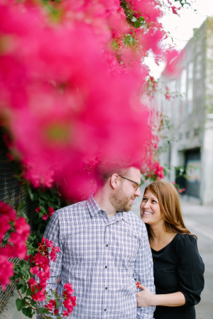 Couple LA Engagement Portrait