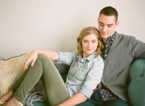 Couple on Sofa Laura Ivanova