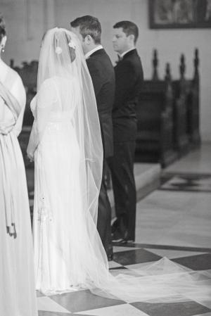Elegant Cathedral Length Bridal Veil