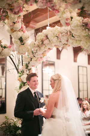 Elegant Floral Wedding Arbor