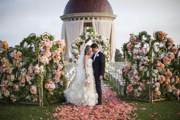 Elegant Newport Beach Wedding