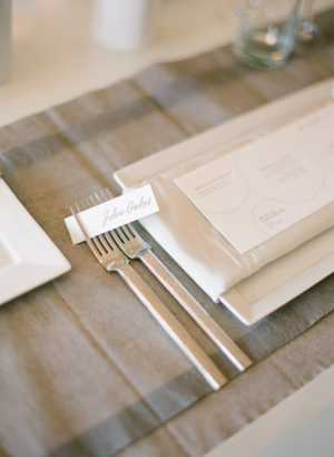 Fork Tine Place Card
