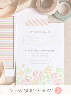 Free Wedding Printables Slideshow