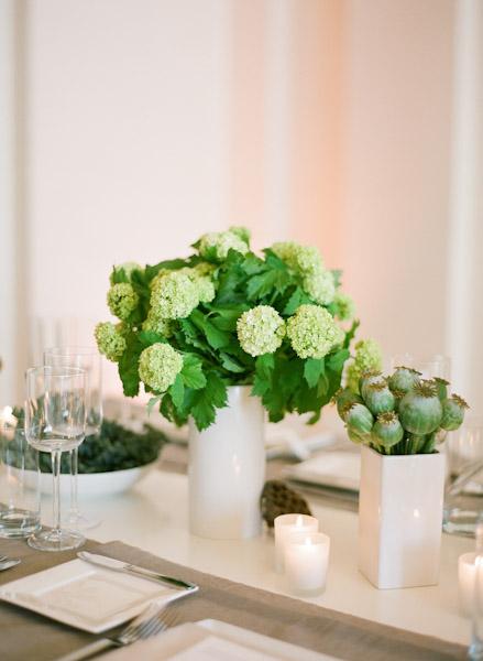 Fresh green and white centerpiece elizabeth anne designs