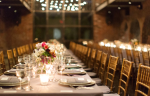 Gold Bamboo Chairs Reception Decor