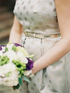 Gold Bridemaids Dress