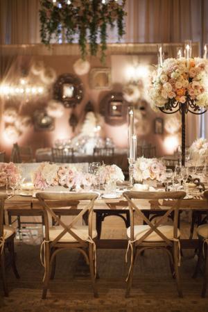 Gorgeous Blush Wedding Reception