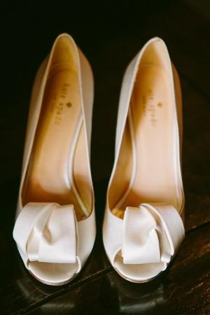 Ivory Bridal Heels