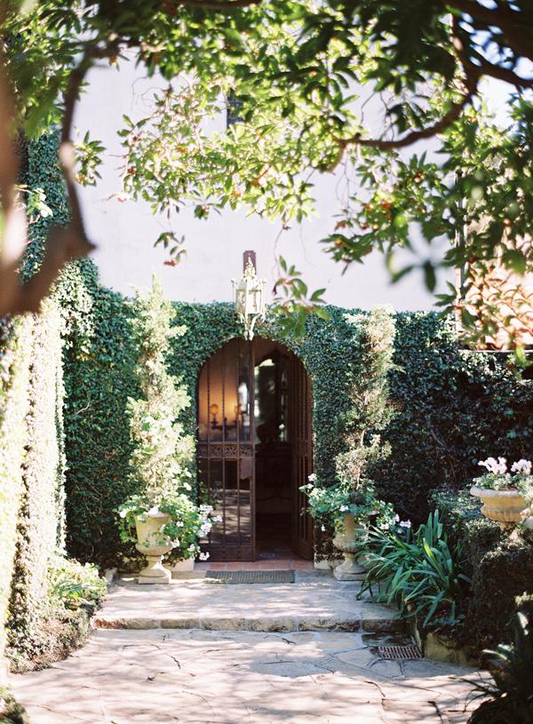 Ivy Covered Garden Walls Wedding Venue Ideas