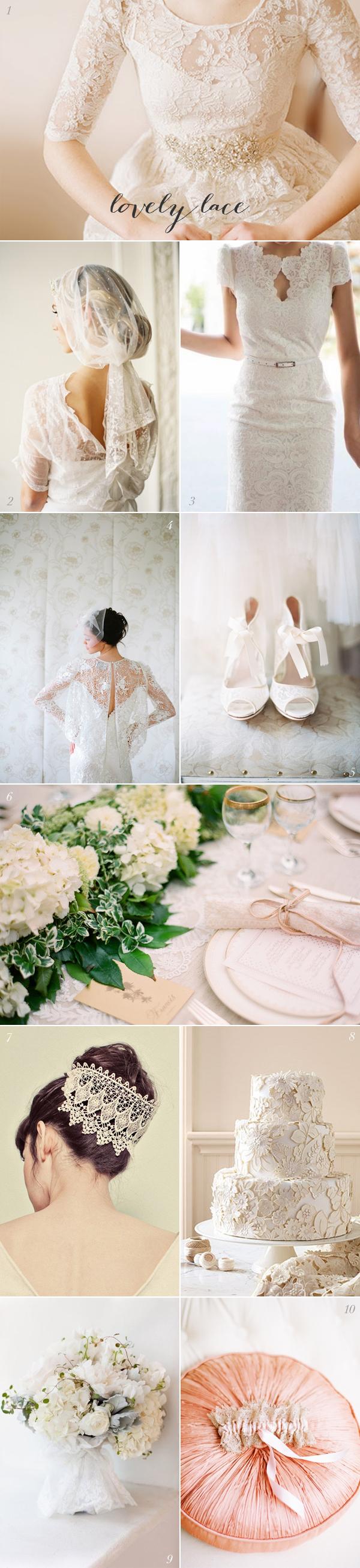 Lace Wedding Inspiration
