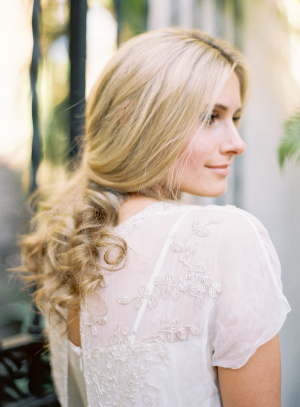 Loose Curls Bridal Hair Ideas