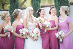 Magenta Bridesmaids Dresses