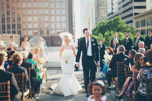 Modern Charlotte Wedding Ceremony