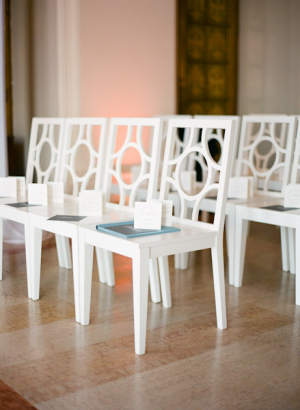 Modern Wedding Ceremony Chairs