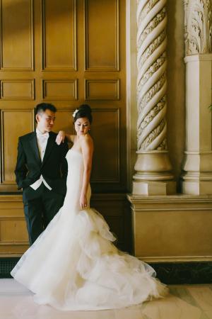 Modern Wedding Portrait Milou Olin