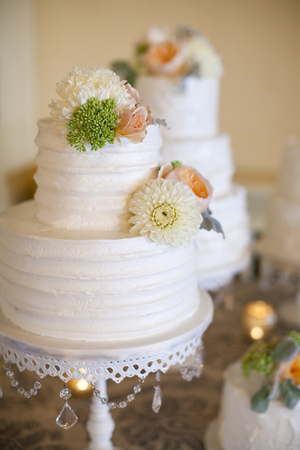 Multiple Wedding Cakes Dessert Table