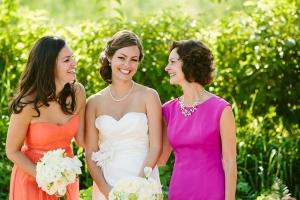 Orange Bridesmaids Dress