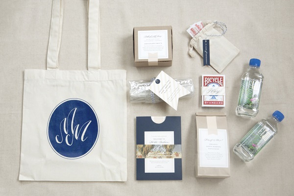 Out of Town Guest Bag - Elizabeth Anne Designs: The Wedding Blog