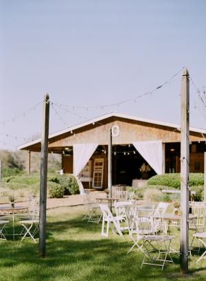 Outdoor Barn Reception
