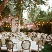 Outdoor Garden Style Reception