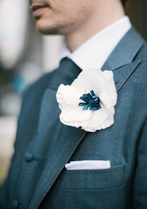 Paper Boutonniere