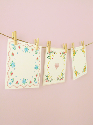 Paper Handkerchief Guest Book