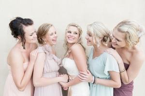 Pastel Purple Bridesmaids
