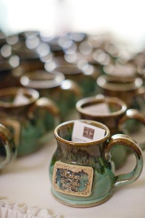 Pottery Mugs Wedding Favors